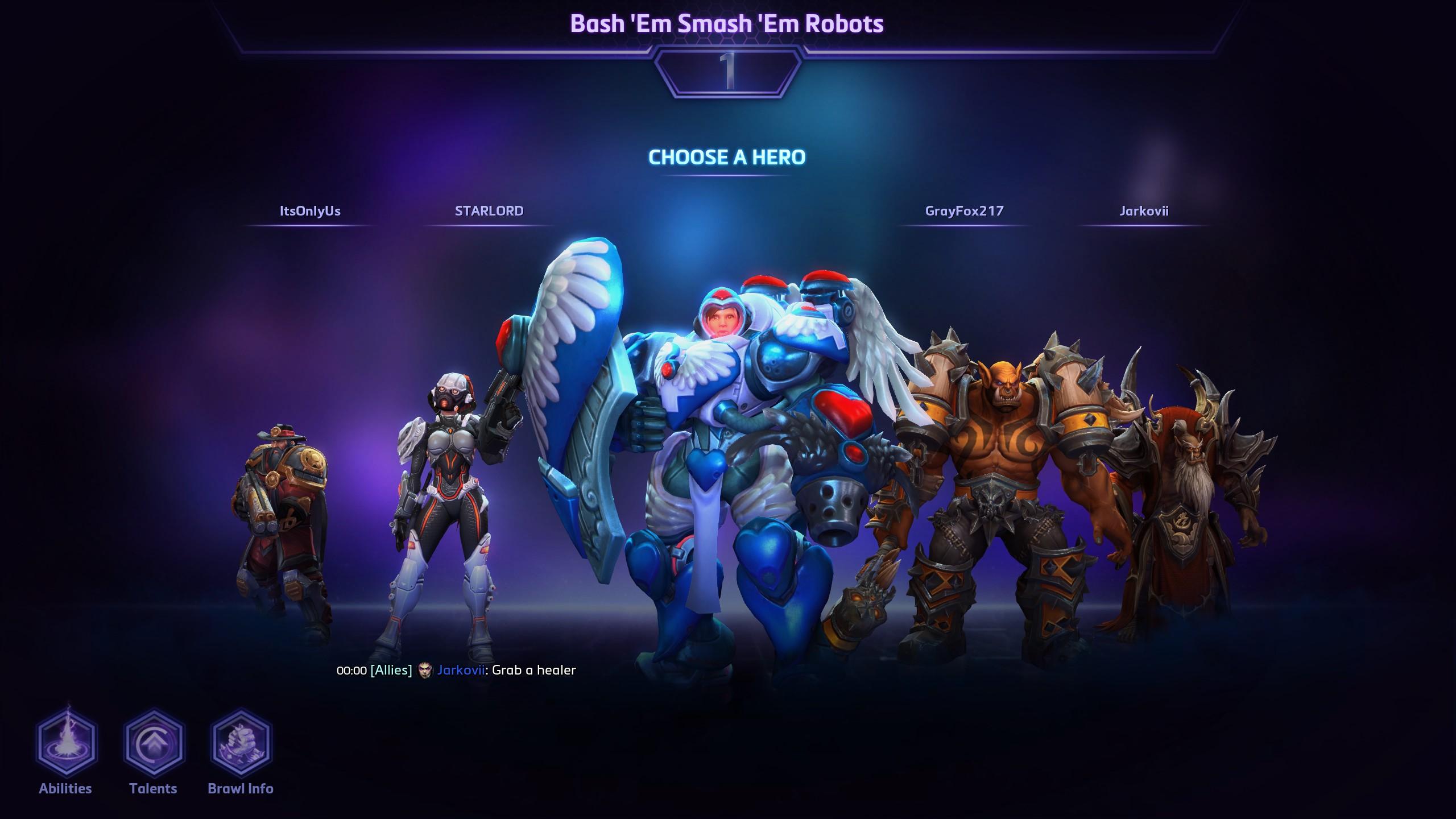 Brawl Team Display